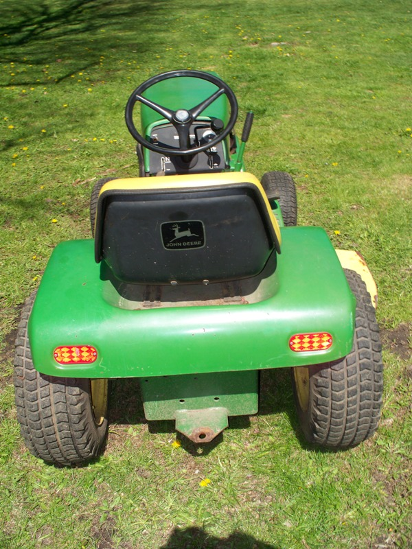 john deere 112 tractor 1974 mytractorforum com the 1974 john deere 112 lawn garden tractor kohler k301 12hp electric lift deck 38 cut