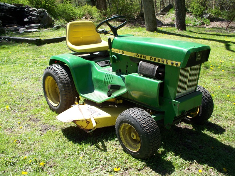 John Deere 112 Tractor 1974 Mytractorforum Com The